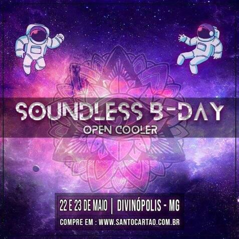 Soundless b-day *OPEN COOLER* - INGRESSO DUPLO